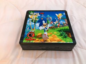 Sticker Sonic Adventure - hyperspin - JPM GAMES.JPG